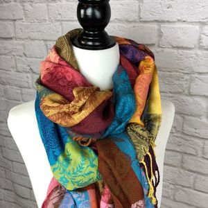 Multi-coloured Scarf